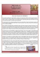 Bulletin 20201011
