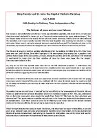 bulletin insert-20210704